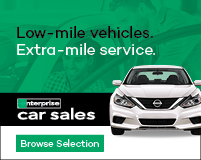 Low-mile vehicles Extra-mile service